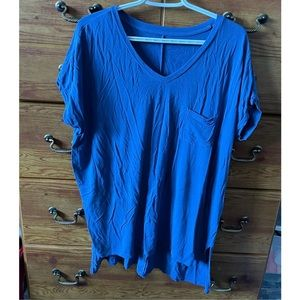 American Eagle Soft and Sexy Blue T-Shirt